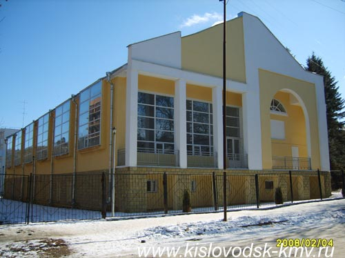 Бассеин Санатория Кавказ в Кисловодске