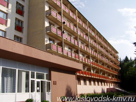 Фасад Санатория Пикет в Кисловодске